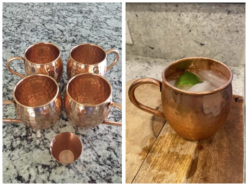 Moscow Mix Moscow Mule Copper Mugs with Straw and Shot Glass Cutomer Review
