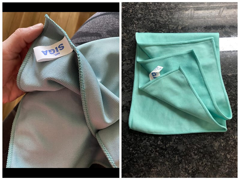 MR.SIGA Ultra Fine Cloths for Glass review