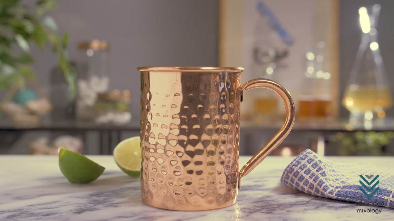 keeping your copper mug shiny and clean advanced mixology. Black Bedroom Furniture Sets. Home Design Ideas
