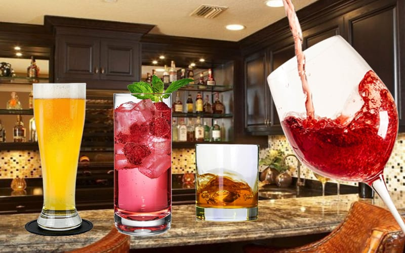 Must-Have Glasses For Your Home Bar