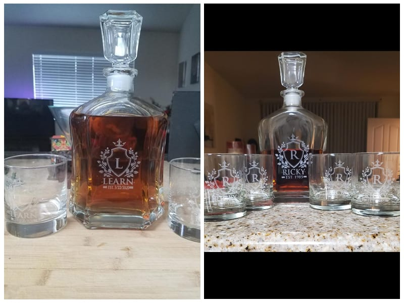 My Personal Memories Personalized Decanter Set  review