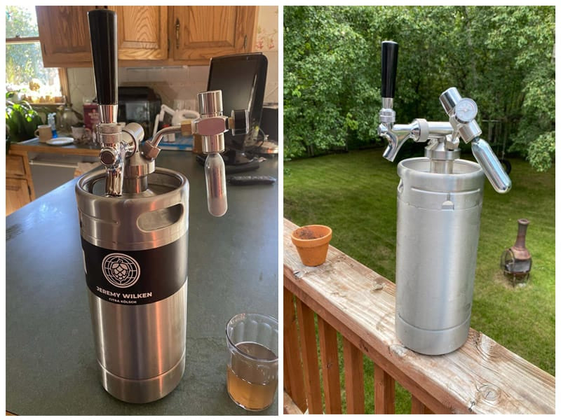 NutriChef Pressurized Growler Tap System review