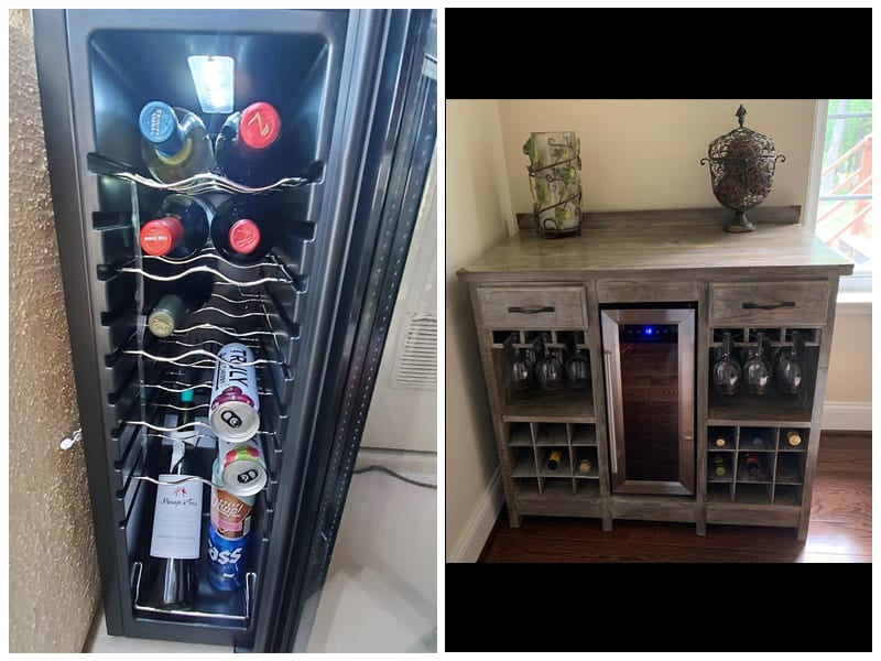 NutriChef Thermoelectric Under Counter Wine Cooler review