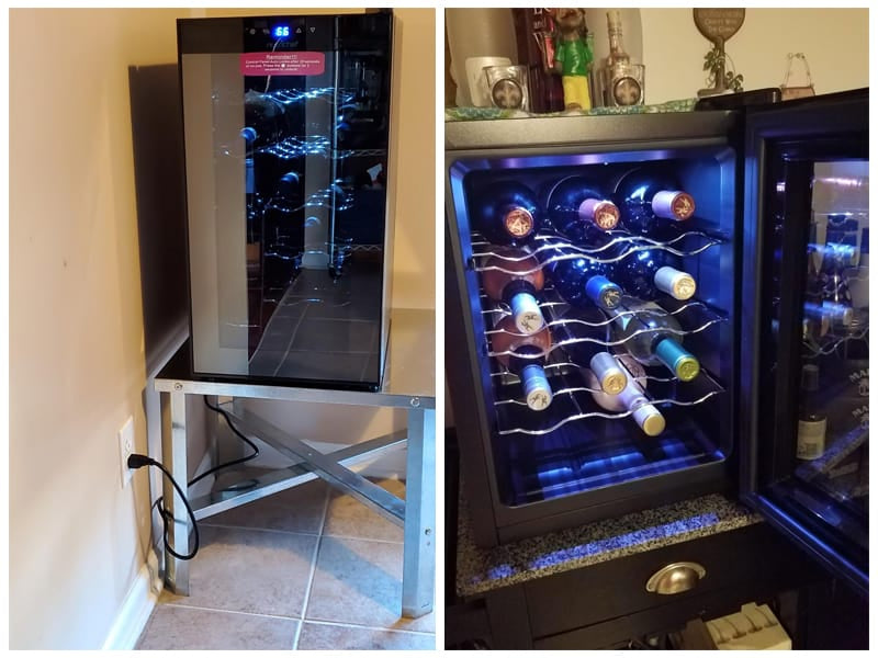 NutriChef Under Counter Wine Cooler review