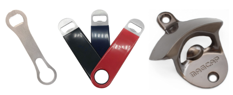 What Is A Bar Key Types Of Bottle Openers And Uses Advanced Mixology