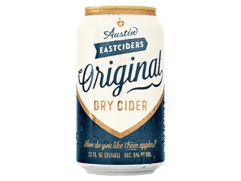 Original Dry Cider by Austin Eastciders
