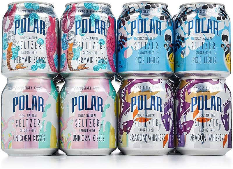 Pack of Polar 100% Natural Seltzer