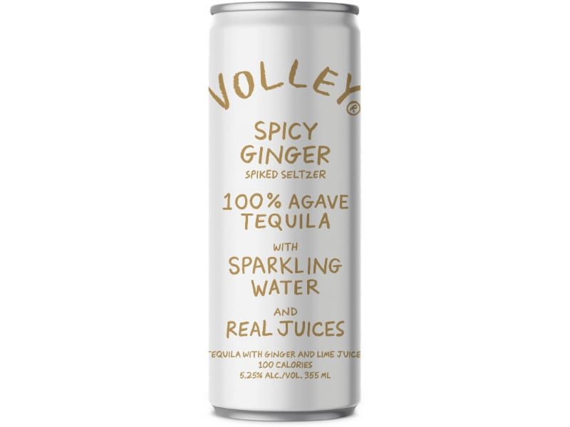 Spicy Ginger Agave Tequila by Volley