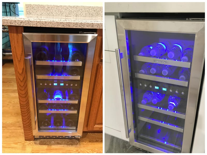 Phiestina Dual Zone Under Counter Wine Cooler review
