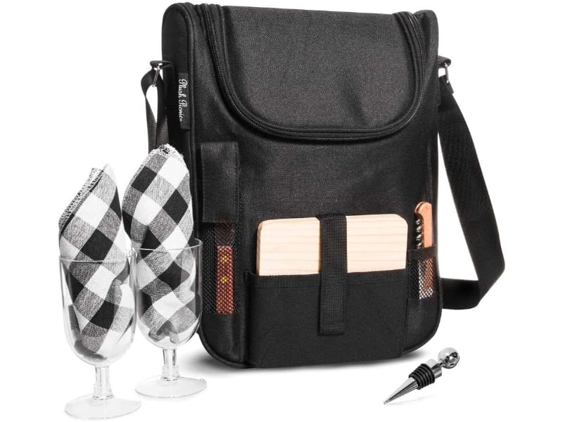 Plush Picnic Insulated Wine Bag