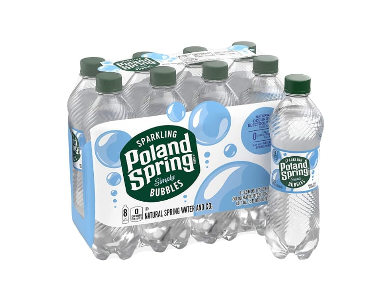Pack of Poland Spring Sparkling Water