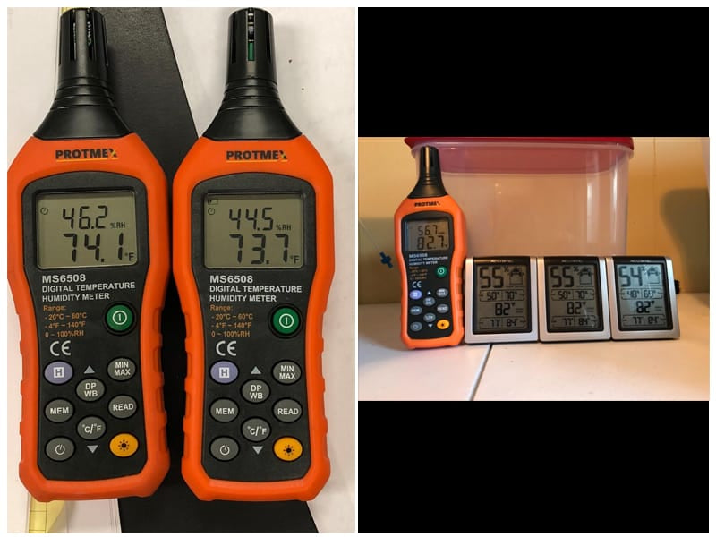 PROTMEX PT6508 Thermometer Hygrometer review