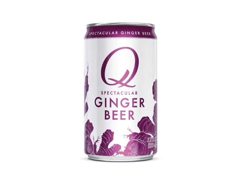 A can of Q Mixers ginger beer