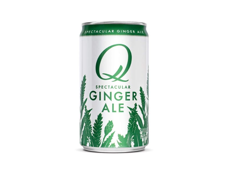 A can of Q Mixers ginger ale