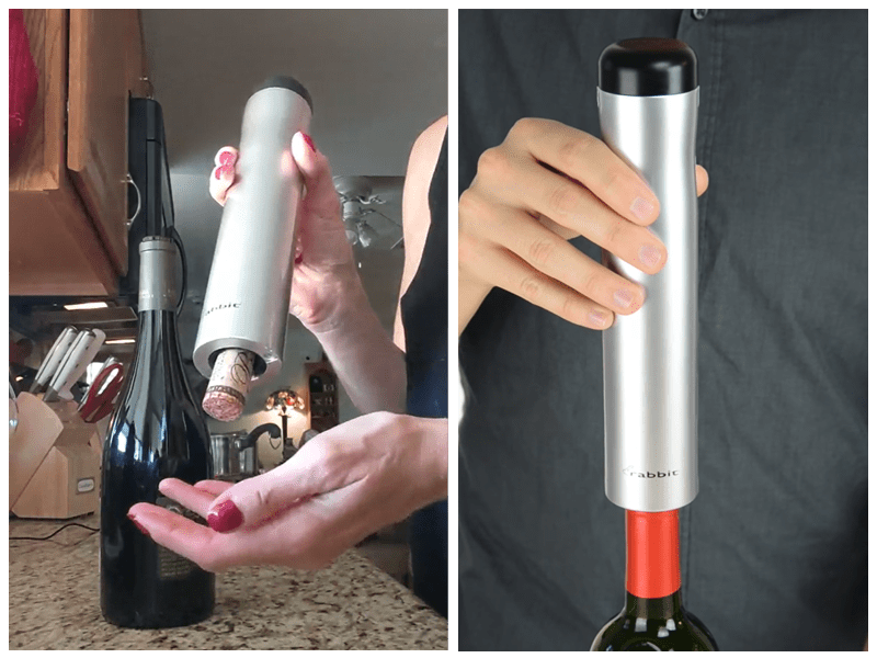 Rabbit Automatic Electric Wine Bottle Opener Customer Review