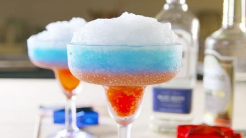 Red White & Boozy Margaritas - Image by Makinze Gore