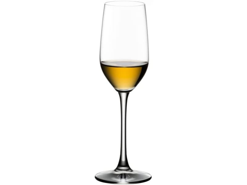 Riedel Bar Ouverture Tequila Glass with liquor
