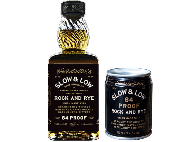 Slow & Low Rock and Rye