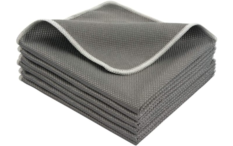 SINLAND Glass Cleaning Cloths