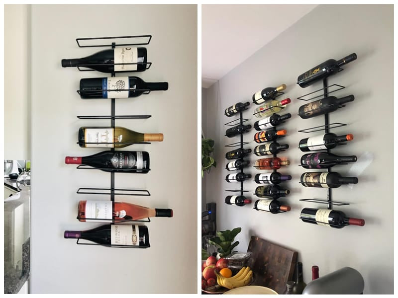 Sorbus Wall Mounted Wine Rack review