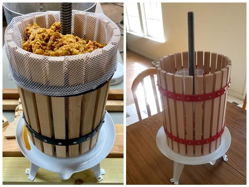 SQUEEZE Master Classic Fruit Wine Press review