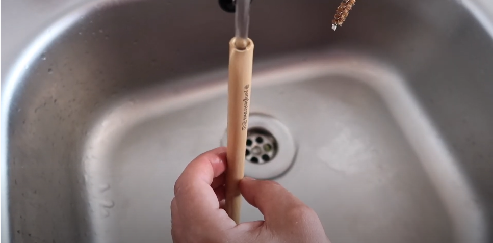 Rinse your bamboo straws after every usage