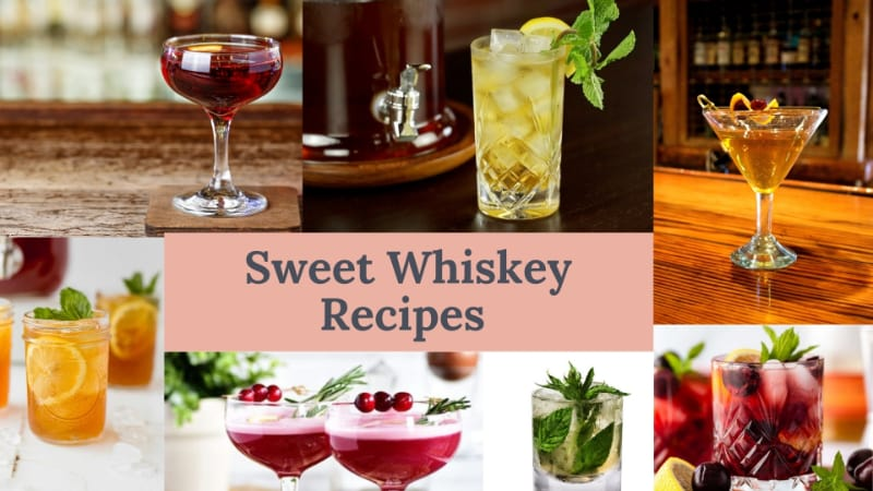 11 Best Sweet Whiskey Recipes to Try this Valentine's Day