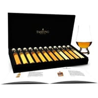 Whisky Tasting Collection 12 Tubes Scotch Sampler Gift Box