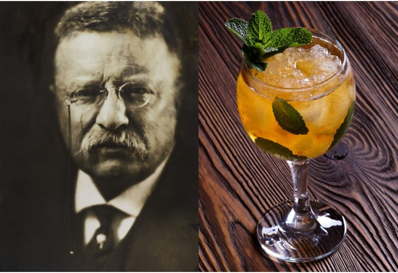 Theodore Roosevelt and Mint Julep
