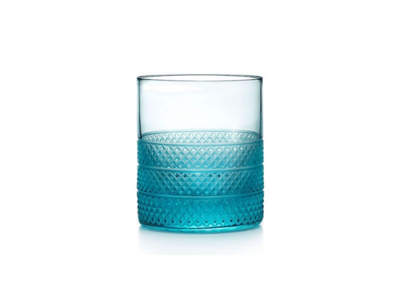Tiffany & Co. Diamont Point Double Old Fashioned Whiskey Glass - Tasting Glass