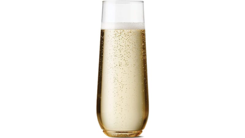 TOSSWARE Flute Glass with champagne