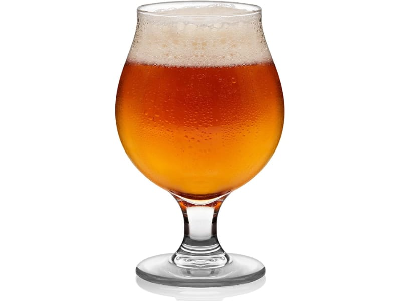 Tulip Glass with beer