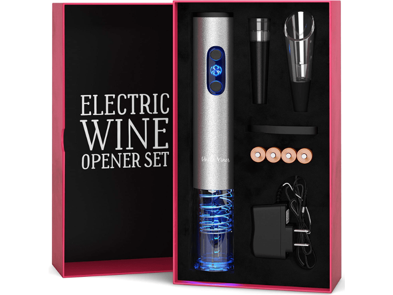 Uncle Viner Wine Opener set in a gift box