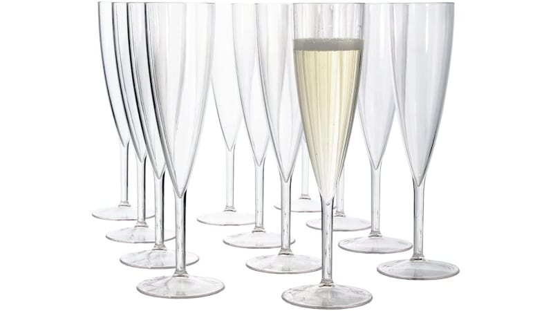 US Acrylic Champagne Flute