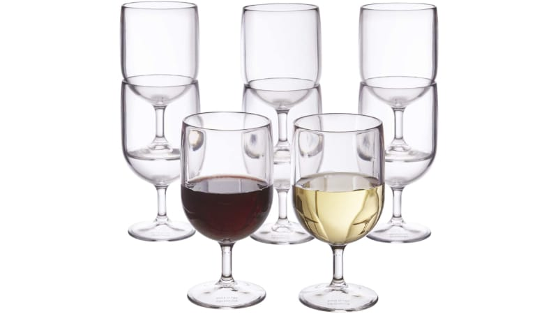 US Acrylic Wine Glasses