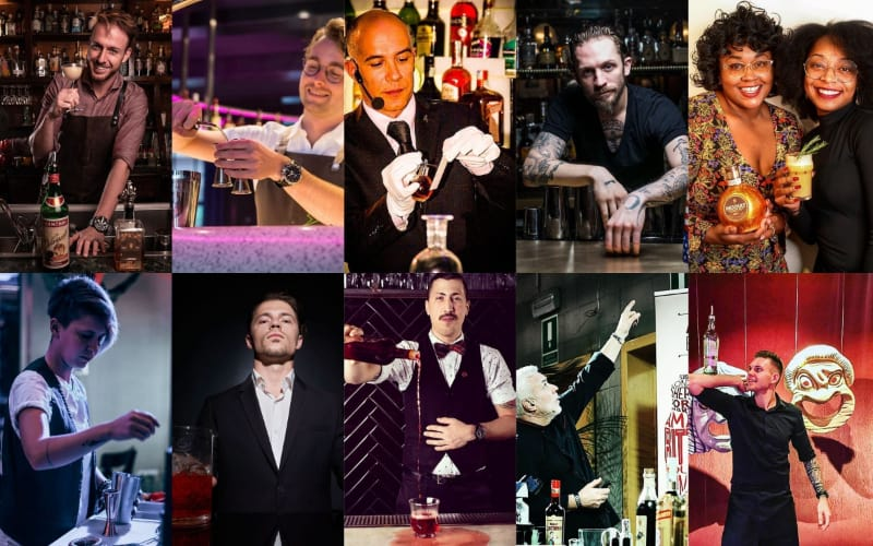 Various best mixologists in the world