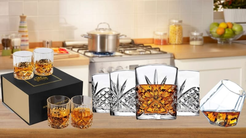 Various Bourbon Glasses to choose from