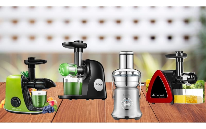 Various celery juicers to choose from