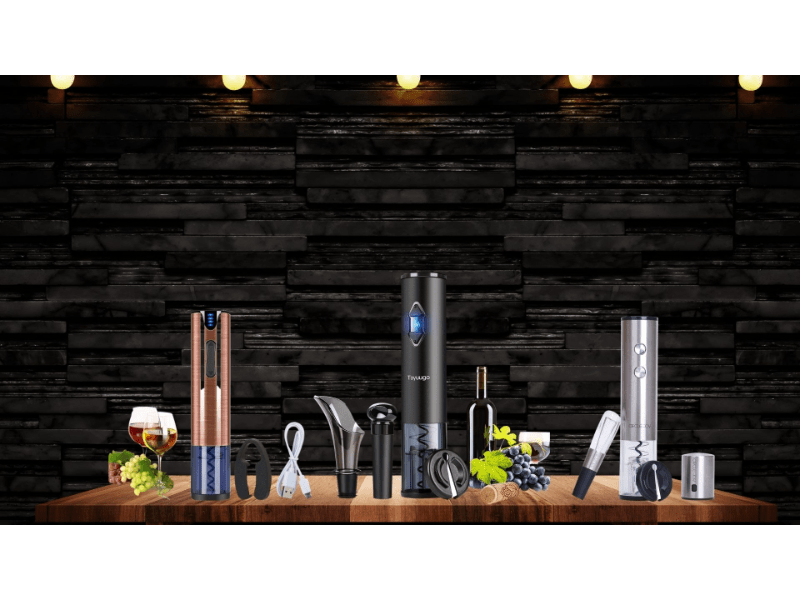 Various Electric Wine Bottle Openers to choose from