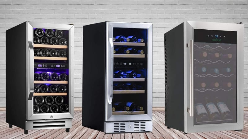 Various wine fridges to choose from