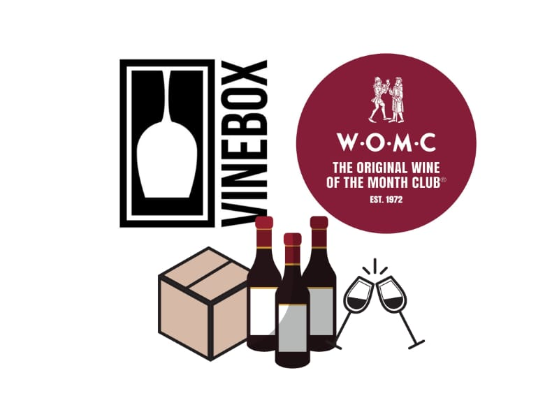 Vinebox or Wine of the Month Club Subscription