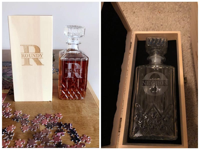 What's Custom Personalized Decanter Set with Box review