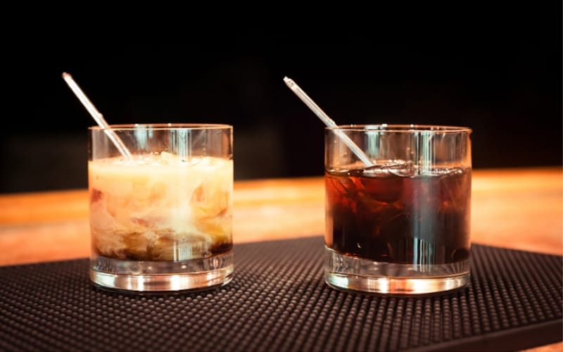 White or Black Russian