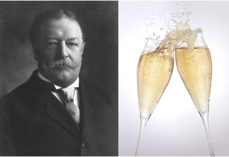 William Howard Taft and Champagne