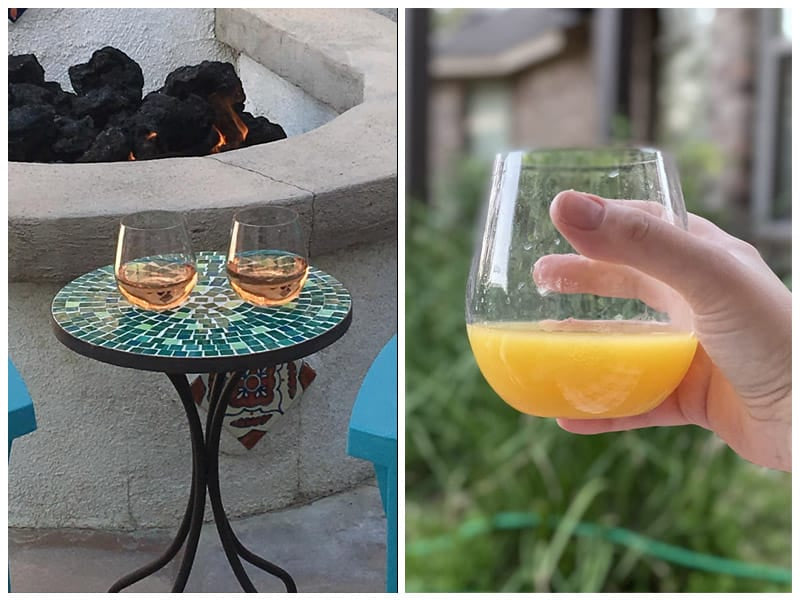 Wine Outside Unbreakable Stemless Wine Glasses review
