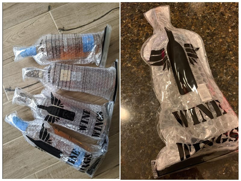 Wine Wings Reusable Bottle Protector Sleeve review