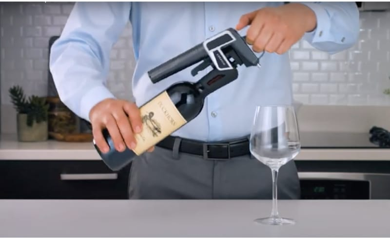 Your Coravin wine preserver is now ready