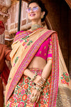 Fuchsia Pink Wedding Lehenga Choli Set
