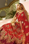 Berry Red Silk Party Wear Lehenga Choli
