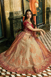 Brilliant Pink and Yellow Party Wear Lehenga Set